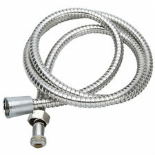 Hot Flexible Stainless Steel Chrome Bathroom Bath Shower Water Hose Pipe 1.5M