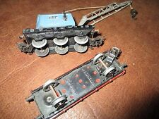 MARKLIN - Rare Grue  315/2- Crane Wagon -version 1956-Fonctionne+ cadeau wagon!