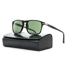Persol 3059 S Sunglasses 95/31 Black Frame / Grey Lenses PO3059S 54 mm