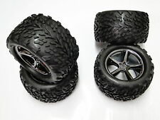 NEW TRAXXAS E-REVO 1/10 Wheels & Tires 14mm hex RRE29