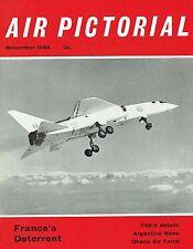 AIR PICTORIAL NOV 64: TSR-2/ GHANA AF/ 800 SQN HISTORY/ SHORT CRUSADER/ SM.65