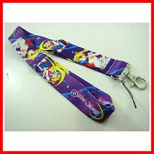 Sailor Moon ID card holder, Key Neck Strap Lanyard, Phone Neck Strap, Keychain