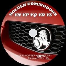 HOLDEN COMMODORE VN VP VQ VR VS WORKSHOP - SERVICE - REPAIR MANUAL + FREE MOVIE!