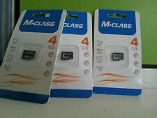 100% original 4gb M-class memory card with 2 years warranty