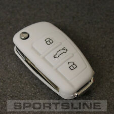 AUDI 3 Button Key Cover Case Remote Fob Protector Shell Bag Hull Skin Cap Car 58