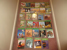 Magic Tree House Merlin Mission Research Guide lot of 31 Books