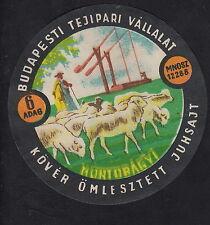 Ancienne  étiquette Fromage  Hongrie  BN10344 Berge Mouton 1