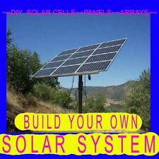HOW,TO BUILD SOLAR CELLS PANELS ARRAYS DIY=FREE. ENERGY