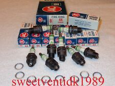 'NOS' AC-44 Spark Plugs.....FIRE RING......1559492