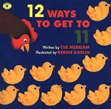 Eve Merriam - 12 Ways To Get To 11 (1996) - Used - Childrens