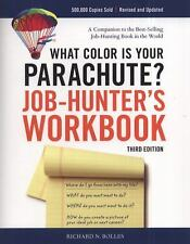 What Color Is Your Parachute? Job-Hunter's Workbook Richard N. Bolles Paperback