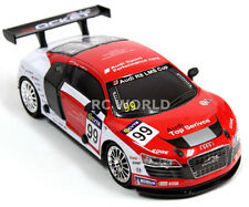 RC 1/24 Radio Control DRIFT Car AUDI R8 Race Car 4WD DRIFT Metal Body Red/White