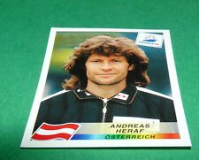 N°146 ANDREAS HERAF ÖSTERREICH PANINI FOOTBALL FRANCE 98 1998 COUPE MONDE WM