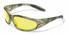 Camo Camouflage UNBREAKABLE!!! Sun Glasses-Hunting Shooting Yellow Safety Lenses