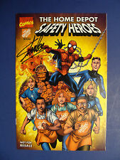 The Home Depot Safety Heroes Special Issue Signed By Stan Lee