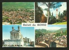 AD7542 Vicenza - Provincia - Saluti da Schio - Vedute