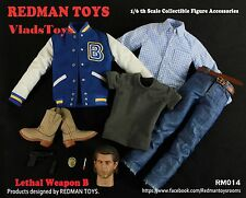 REDMAN TOYS 1/6 Lethal Weapon Clothing Accessory Set B Mel Gibson RM014 USA Deal