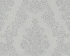 AS Creation Elegance 2 Vlies Tapete 936773 grau Textil Struktur Barock Floral