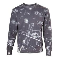 Star Wars Imperial flota Tie Fighters Sublimación pequeño suéter gris oscuro