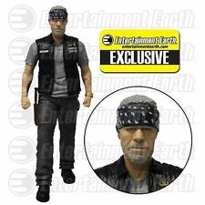 FX Variant Sons Of Anarchy Mezco Clay Bandana Cigar Knife Action Figure SAMCRO+