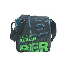 Robin Ruth Borsa A Tracolla Berlino Nuovo/Scatola Originale Borsa A Busta Borsa In Blu/Verde