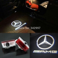 2x Laser LED Door courtesy Shadow Projector Light For Benz w176 A class A45 AMG
