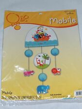 NEW~NOAH'S ARK~ BABY SHOWER  1- HALLMARK MULTI-COLOR MOBILE   PARTY SUPPLIES