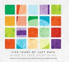 Various Artists - 5 Years of Lazy Days - Mixed by Fred Everything ( 2 CD ) NEW