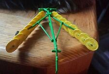 1/64 custom John deere 16 wheel rake farm toy