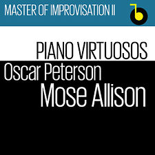 CD Oscar Peterson, Mose Allison PIano Virtuosos