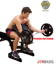 NEW Body Solid GPCA1 Preacher Curl Attachment - for GFID71 GFID31 GFID100 Bench