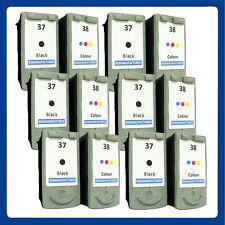 12 Reman Ink Cartridge Replace For Canon Pixma iP1800 iP1900 iP2500 iP2600