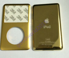 Golden Faceplate Housing Back Case Cover for iPod 7th Gen Classic160GB  ((thin)