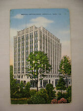 VINTAGE LINEN POSTCARD THE MEDICAL ARTS BUILDING IN KNOXVILLE TENNESSEE 1947