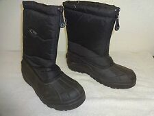 BIG Boys Front Zipper Winter Snow Boot YOUTH   Size 9