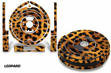 Skin Decal Wrap For iRobot Roomba 650/655 Vacuum Stickers Accessory Kit LEOPARD