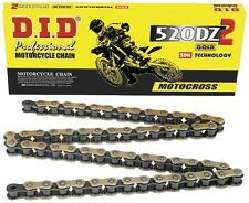 DID DZ 2 520 X 120 Link Gold Motorcycle/Motorcross Chain CR KX RM YZ CRF KXF KTM