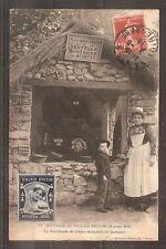 CPA CARTE POSTALE CARD FRANCE FRANKREICH NANTES SOUVENIR VILLAGE BRETON