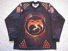 DRAGONS - Paintball Russian Professional Padded Jersey Armen Egizarov #99 2XL