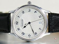 Tourneau Classic Men's Watch, 18K White Gold, 1900 Guilloche Automatic Ref30020