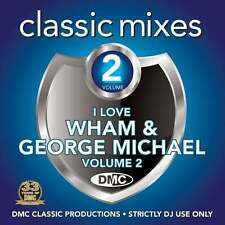 DMC Wham and George Michael Vol 2 Megamixes & 2 Trackers Mixes Remixes DJ CD