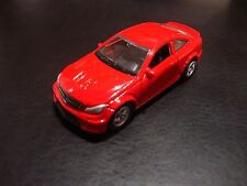 Welly diecast Mercedes-Benz C63 AMG scale 1:60 brand new #52335 maroon