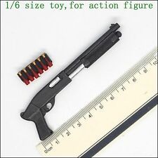 L11-37 1/6 scale action figure shotgun & bullet (Can't activities)