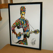 Bob Dylan, The Band, Singer Songwriter, Guitar, Folk Rock, 18x24 POSTER w/COA 3