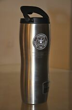 Starbucks Pike Place Market Stainless Steel Double Wall Silver Tumbler 16 fl oz