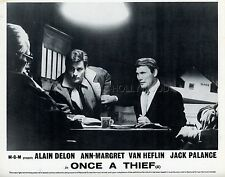 ALAIN DELON JACK PALANCE ONCE A THIEF  1965 VINTAGE PHOTO ORIGINAL #4