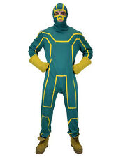 Kick Ass Costume, Mens Superhero Outfit, Large, CHEST 48""