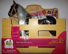 "Our Generation BOHO HAIR PLAY HORSE for 18"" American Girl Doll NIB"