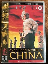 Jet Li ONCE UPON A TIME IN CINA ~ 1991 Classic HKL Hong Kong Legends UK DVD