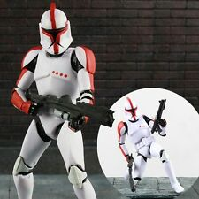 Star Wars The Black Series Riot Control Red Clone Trooper Figure Figurine No Box